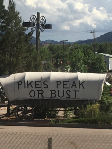 Pikes Peak area, Colorado