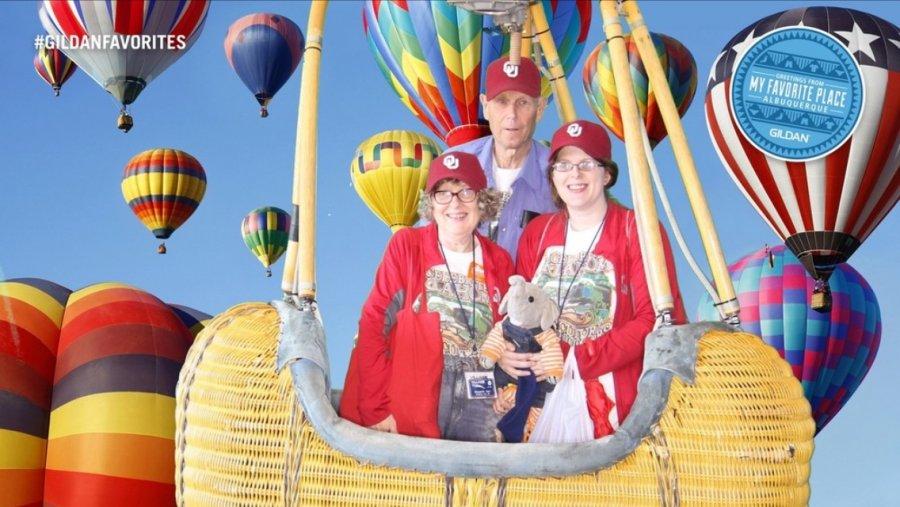 Balloon festival Alberqurque, Harts family 10-3-16
