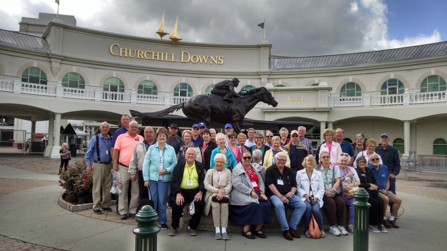 Churchill Downs on Smoky Mountain Spring 2017