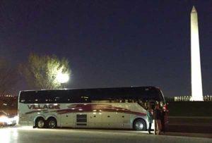 Field trip charter bus