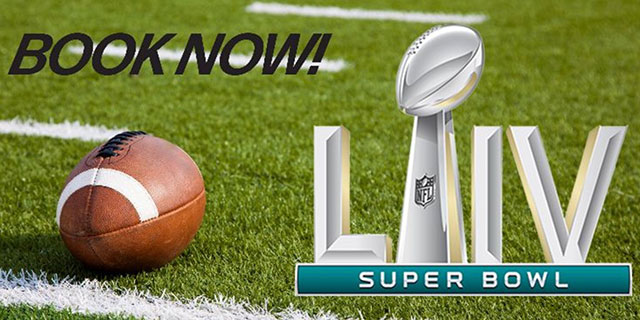 Book Now - Super Bowl
