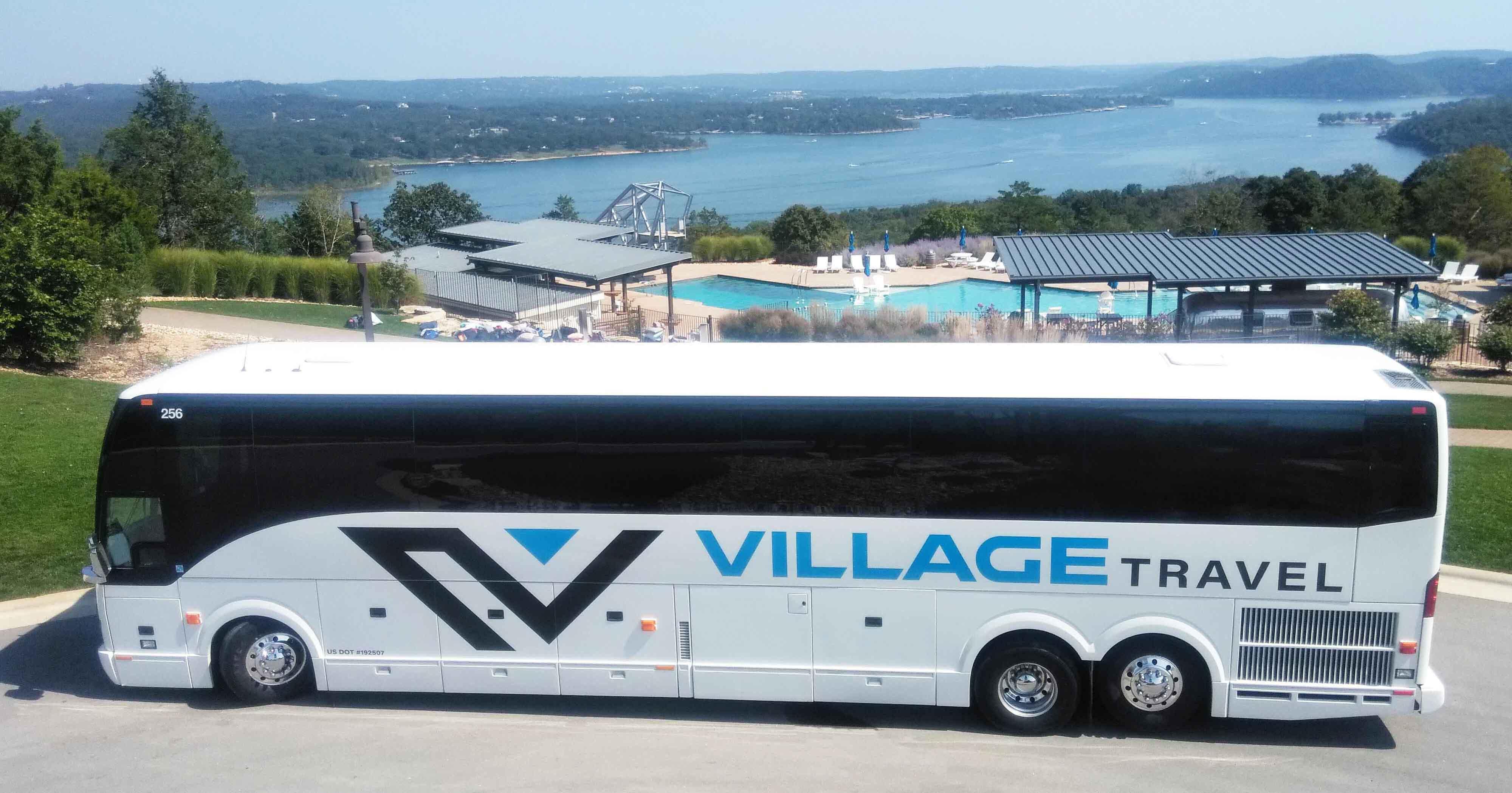 Charter bus Joplin MO